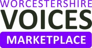 Worcestershire Voices marketplace logo. Click to go to the website