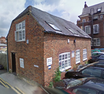 Evesham Volunteer Centre premises in Brick Kiln Street