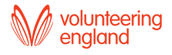 Volunteering England Logo. Evesham Volunteer Centre is an accredited volunteer centre