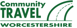 Community Travel Worcestershire - logo of the community transport consortium partners